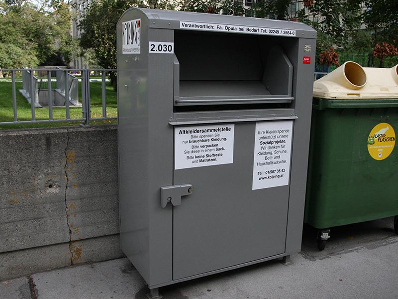 Altkleider-Container