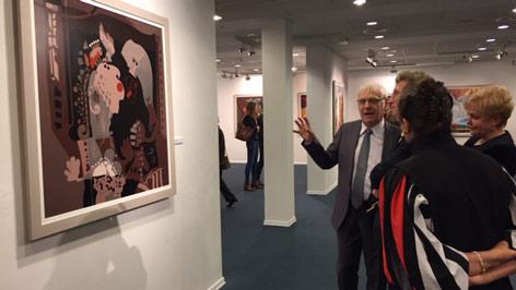 Árkossy kiállítás megnyitó