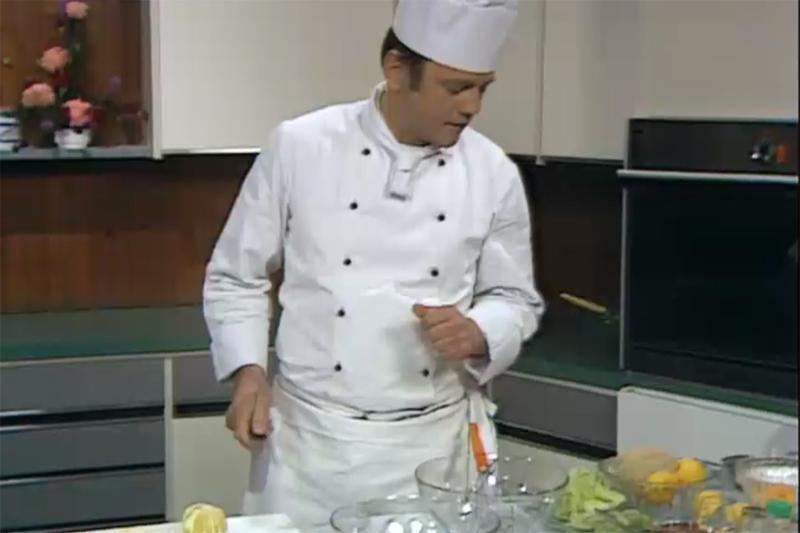 """Egon Assam bei """"Häferlgucker"""", ORF 1978"""