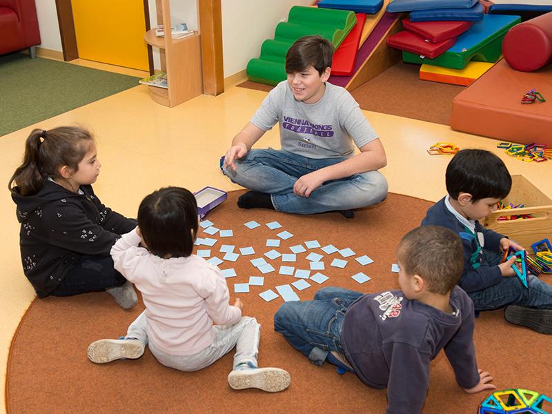 boys day buben im kindergarten