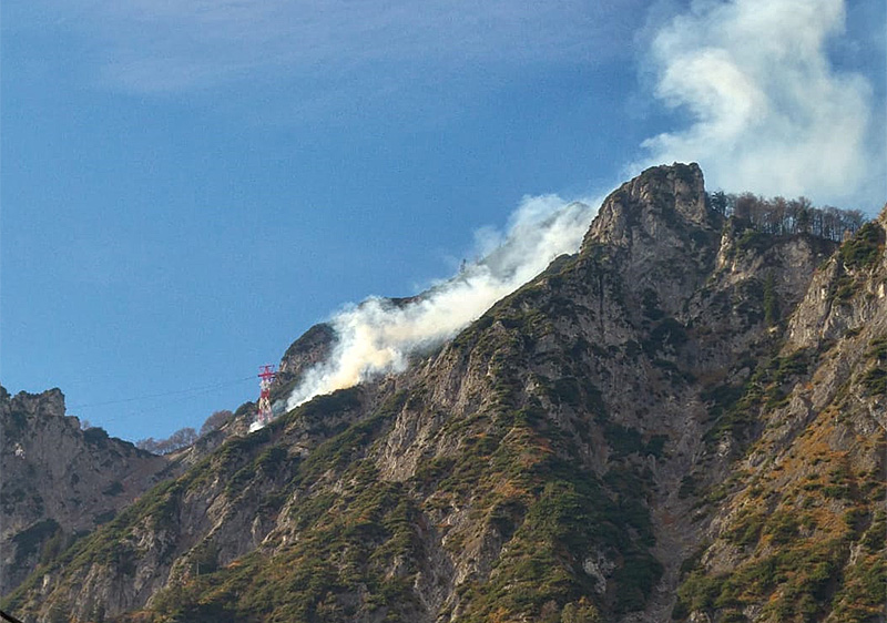 Untersberg Brand Seilbahn