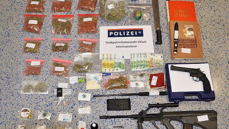 Drogen Waffen Villach