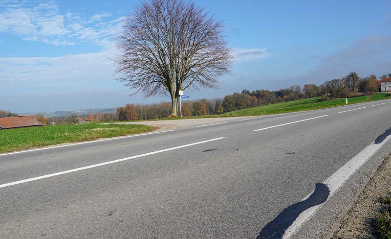 Andorfer Straße, Ortschaftsbereich Weilbolden