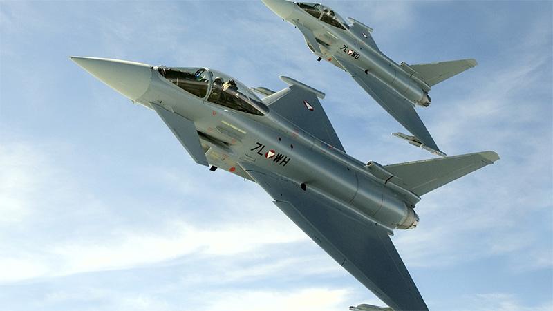 Bundesheer Eurofighter Ultraschallflüge