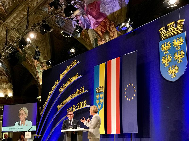 Festakt Palais Niederösterreich 100 Jahre Landesversammlung