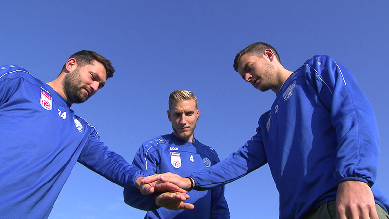 TSV Hartberg, Dario Tadic, Michael Huber, Philipp Siegl