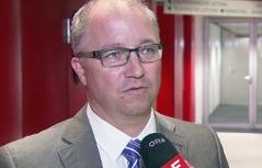 Robert Holzleitner, Sprecher der Salzburger Staatsanwaltschaft bei Interview