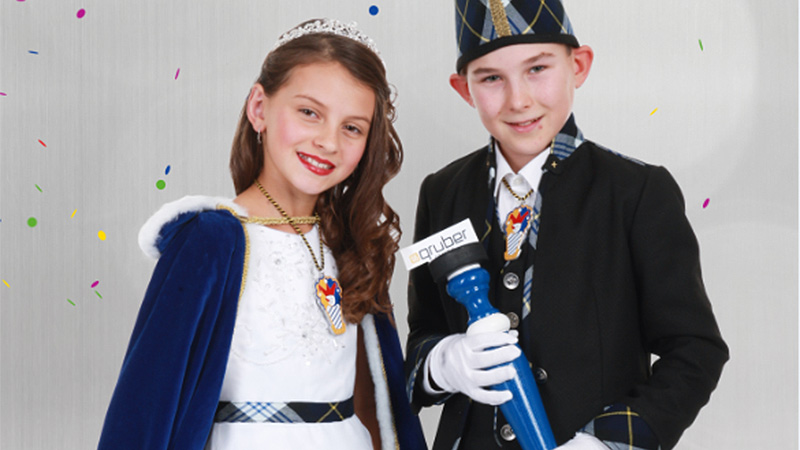 Kinderprinzenpaar Villacher Fasching