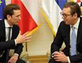 Kurz Beograd rešitev spor Srbija Kosovo