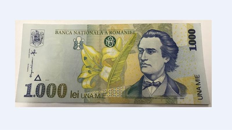 Alte Leu Note rumänisches Geld