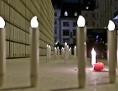 """Gedenkmarsch """"Light of Hope"""" der Israelitischen Kultusgemeinde (IKG) mit Abschlusskundgebung am Judenplatz in Wien"""