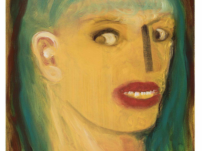 Miriam-Cahn_Portrait Miriam-Cahn_zaehne-zeigen
