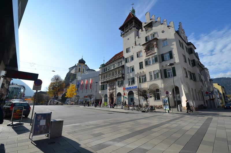 Oberer Stadtplatz in Kufstein