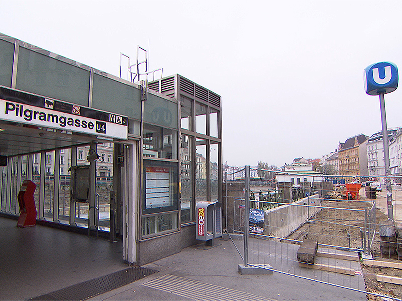 U-Bahn-Station Pilgramgasse
