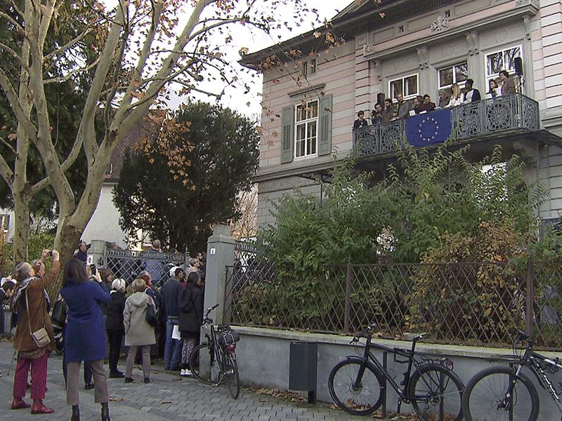 Republik Europa ausgerufen - Jüdisches Museum