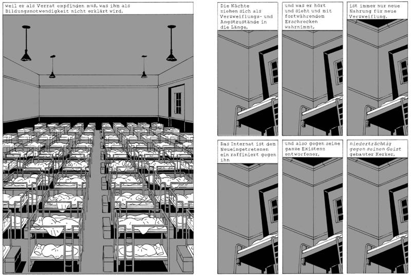 Die Ursache Graphic Novel Lukas Kummer