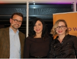 Dr. Raphael M. Bonelli, Neurowissenschaftler und Psychiater; Jasmin Dolati, Radio Wien Programmchefin; Barbara Haas, Chefredakteurin WIENERIN