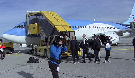 """Bullen"" fliegen nach Trondheim ab Charterflug"