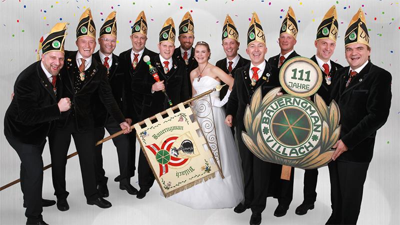Villacher Fasching elf Prinzen