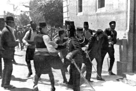 28.06.1914 Gavrilo Princip Attentat an Franz Ferdinand