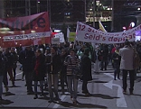 Demonstrationszug Donnerstagsdemo