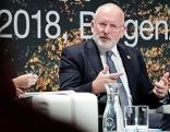 """EU-Kommissionsvizepräsident Frans Timmermans im Rahmen der Konferenz """"Subsidiarität als Bauprinzip der Europäischen Union"""" in Bregenz."""