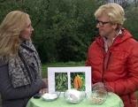 Edina Gaisecker und Kornelia Seiwald im ORF Fernsehgarten