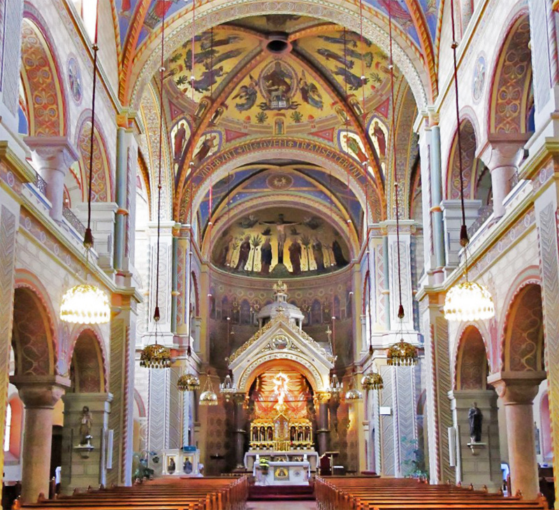 Herz Jesu Kirche Innsbruck Innenraum