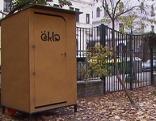 Kompostklo derzeit in Neubau im Praxistest