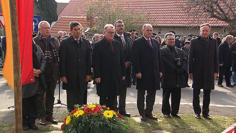 Gedenkfeier in Lackenbach 2018