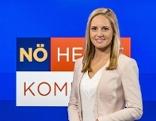 "Margit Laufer im ""NÖ heute""-Studio"