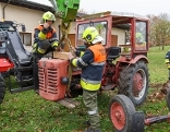 Traktorunfall Schlins