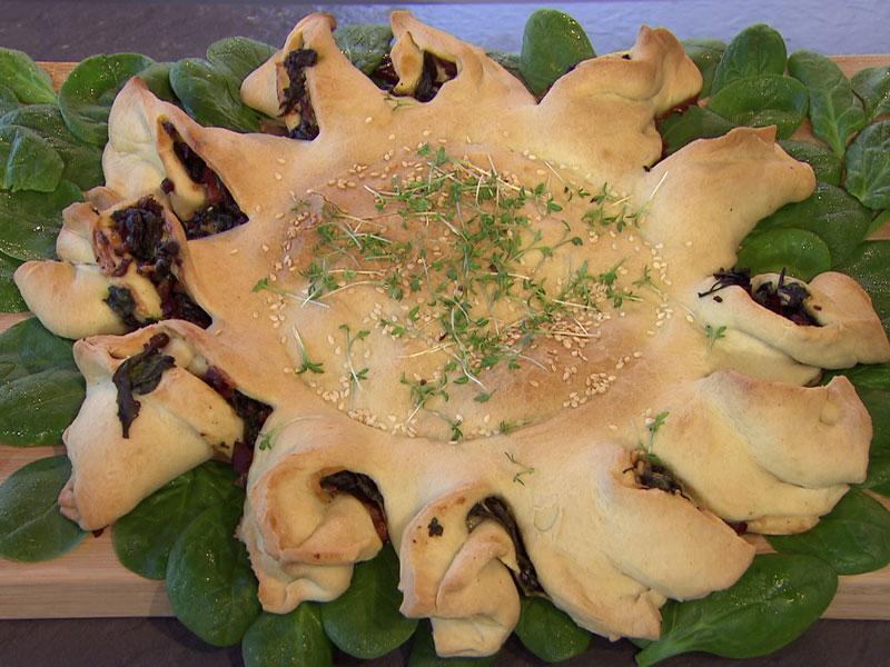 Spinat-Speck-Kuchen