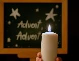 Kerze Advent Weihnachten Sujet