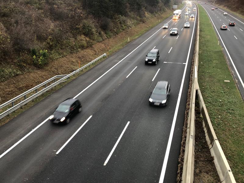 Südautobahn Verlängerung Spur Wiener Neustadt A2