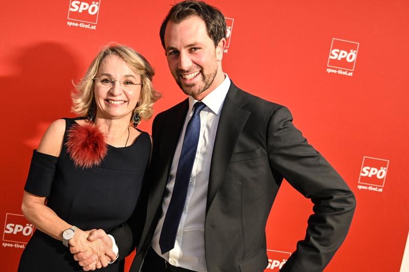 Elisabeth Blanik und Georg Dornauer