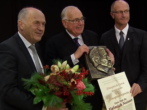 Einspierlejeva nagrada Heinrich Neisser Krištof Inzko