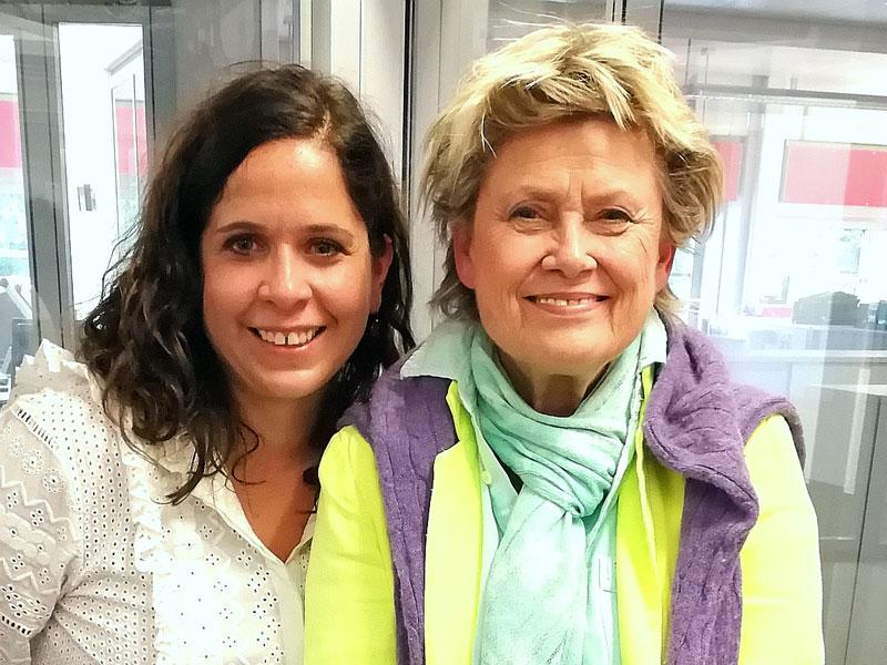 Gabi Kerschbaumer und Gitte Haenning