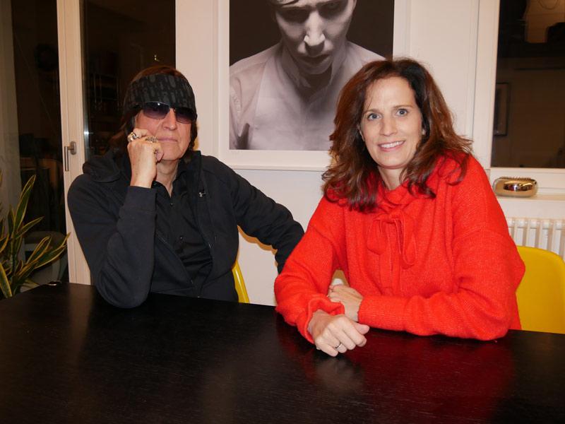 Gottfried Helnwein und Alice Herzog