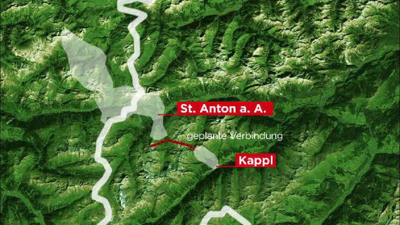 Grafik Zusammenschluss Kappl St. Anton
