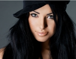 Frau Lippenstift matt Hut