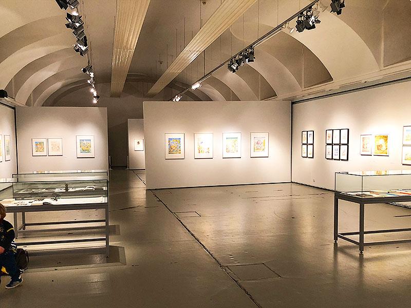 Projektraum  Esterhazy Stallungen Erwin Moser Ausstellung