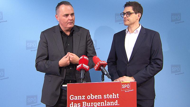 Hans Peter Doskozil und Christian Dax