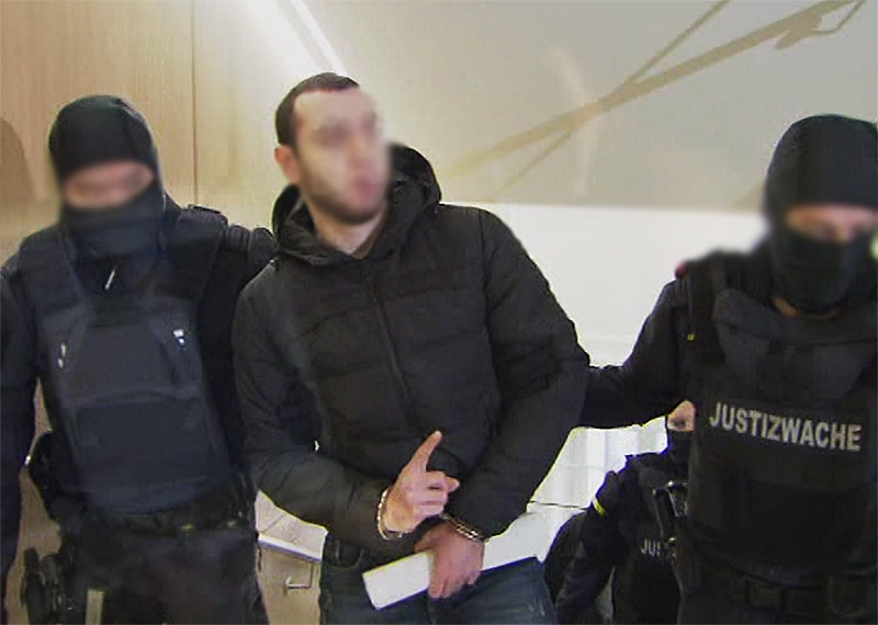 IS Syrer Terrorist Prozess Flüchtling Asylwerber