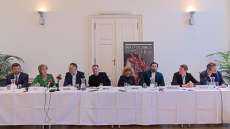 Präsentation Zauberflöte St. Margarethen 2019