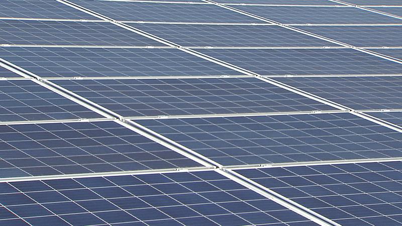Photovoltaikanlage auf Dächern