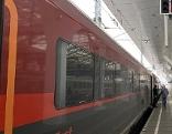 Railjet sitzt in Salzburg bei Bahnstreik fest