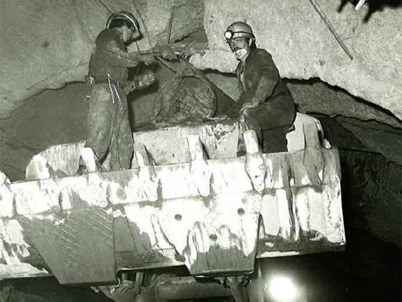 Tunnelbau Arlbergtunnel