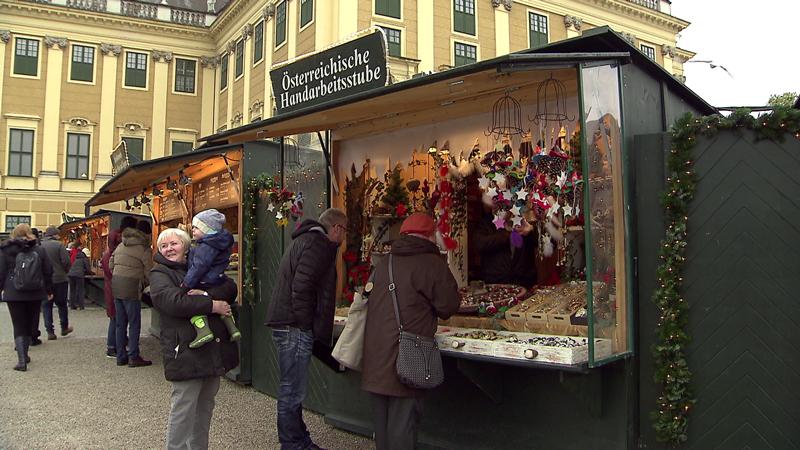 Weihnachtsmarkt Schönbrunn Niederösterreichische Betriebe Adventmärkte