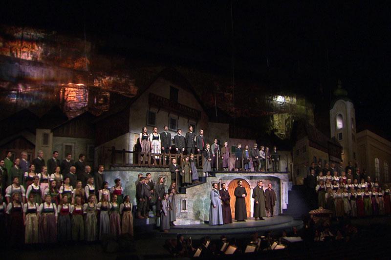 Szene aus dem Salzburger Adventsingen 2018